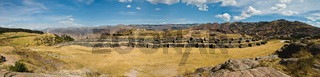 Sacsayhuaman above Cusco Panorama with great cloud