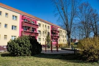 erkner, deutschland - 25.03.2020 - neubau in der bahnhofssiedlung