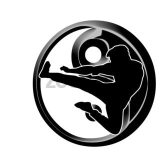 kung fu Logo three
