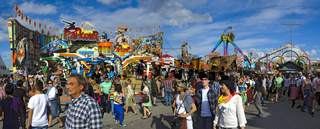 Panorama vom Oktoberfest