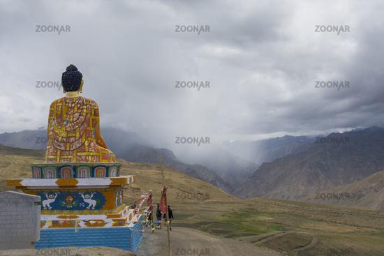 Buddha at Langza, Spiti Valley, Himachal Pradesh, India