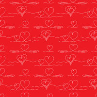 One Continuous Line Drawing Heart Icon. Symbol of Love. Elegant Wedding Doodles. Valentine Day Print.