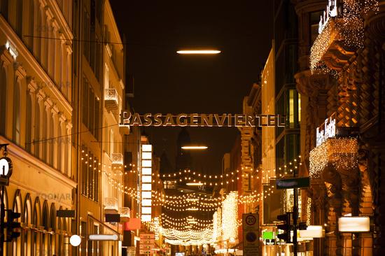 Passages district in Hamburg