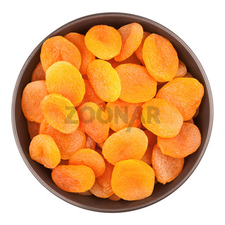 Bowl With Dried Apricots