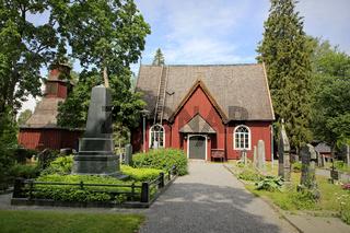 Sammatti Church and the Grave of Elias Lonnrot