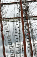Sailing boats 001. Eckernfoerde. Germany