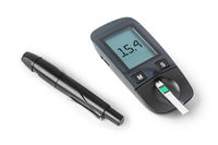 Diabetes blood sugar glucometer