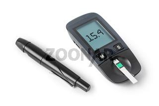 Diabetes blood sugar glucometer