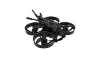 3D rendering of a race drone cinematic footage tool computer model on white background.