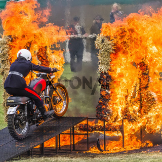 British Army Motorcycle Display Team