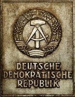 Sign of German Democratic Republic