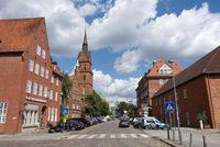 Lübeck, Church Herz Jesu, Hansestadt, Schleswig-Holstein, Germany