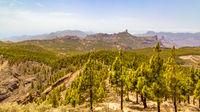 Panoranic view of Gran Canaria