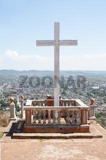 Loma de la Cruz in Holguin, Cuba