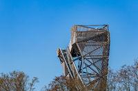 Watch tower nature park De Omlanden in Groningen The Netherlands
