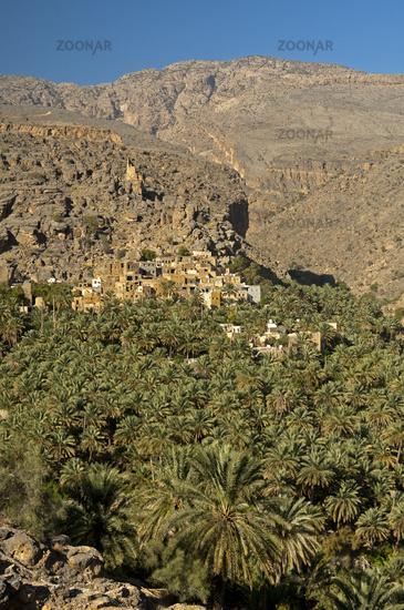 Mountain village of Misfah al Abriyeen, Oman