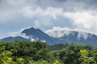 fresh mountain after the rain
