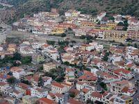 the town Buggerru in Sardinia