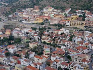 der Ort Buggerru auf Sardinien