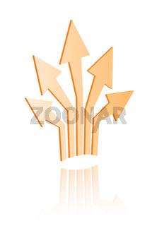 Shiny Icons: Arrows Spreading