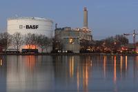 Site of BASF, Rhineland-Palatinate, Germany