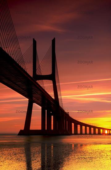 Vasco da Gama at Sunrise