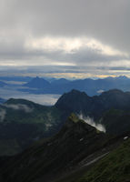 View from Mount Brienzer Rothorn.