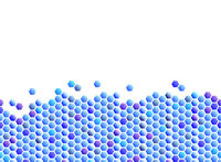 seamless blue honeycomb pattern background