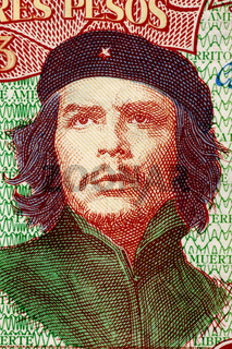 Ernesto Che Guevara (1928-1967) on 3 Pesos 1995 Banknote from Cuba. An inspiration for every human being who loves freedom.