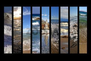 Collage Wasser