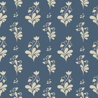 Floral ornate seamless pattern.
