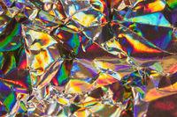 Multicolored metallic background