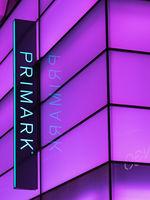 company logo of Primark store in Dresden, Germany