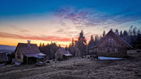 cottage settlement for relaxation and rest in the Western Tatras