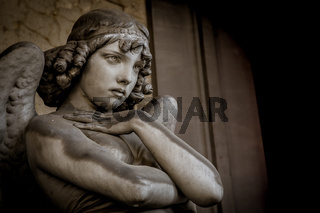 Angel in Genoa Cemetery (1882)