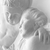 Statue of cherubs putti