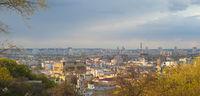Podol Old Town skyline Kiev