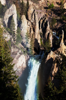 Waterfall in Yellowstone