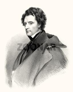 Sir John McNeill, 1795 – 1883, a Scottish surgeon and diplomat, digitally optimized