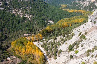 Canyon of the river wolves, Soria, Castilla y Leon, Spain