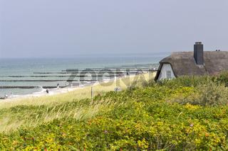 Ostsee Ahrendshoop - Haus in den Duenen