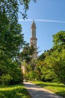 Minaret in Valtice Lednice area, Czech Republic