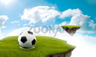 Soccer in the sky