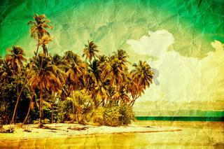 Tropical grunge