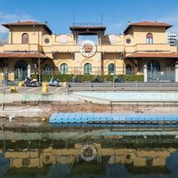 Headquarters of the rowers Milano
