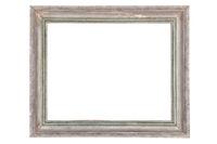 Old vintage silver picture frame.