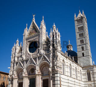 Romanesque cathedral of Siena