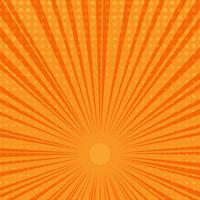 orange and yellow starburst background