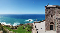 Panoramic view from the