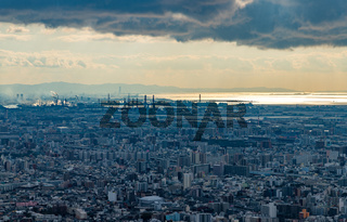 Osaka City Skyline XVIII